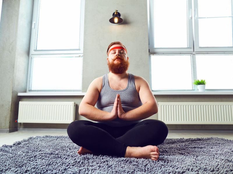 How winter yoga makes your body better